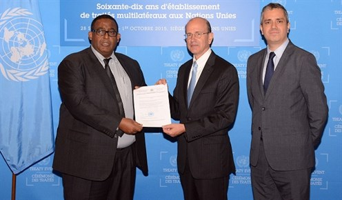 Somalia Ratifies the Convention On Cluster Munitions!