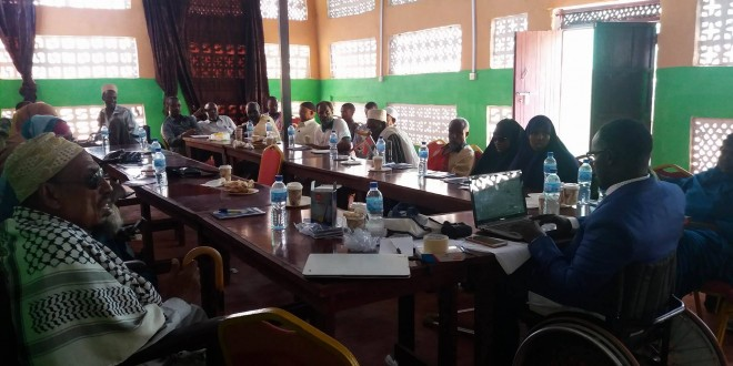SODEN Held 4 Days Community Mobilization For Access To Equity And Inclusive Education For Children With Special Needs In Kismayo Southern Somalia Collaboration with ADRA and NORAD