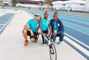 Somali's Farhan Hadafo at Rio as Somalia makes its debut at the Paralympics Games